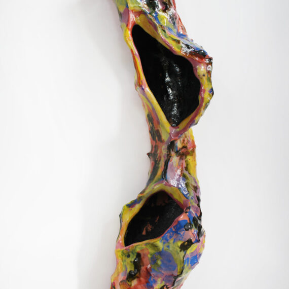 "Lynda Benglis: ""Bird's Nest # 4"""